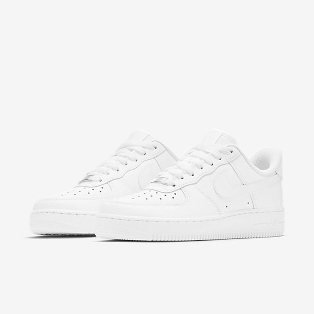 womens white nike air force 1