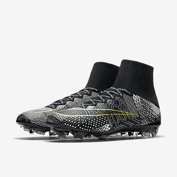 wholesale dealer dc4a8 cd69c ... nike mercurial superfly iv bhm indoor soccer schuhe schwarz weiß ...