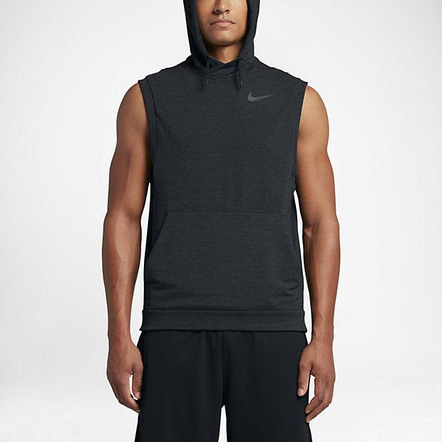 Nike Dry Men's Sleeveless Training Hoodie. Nike.com