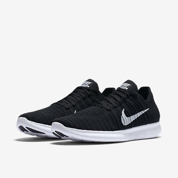 ... chaussure de running free rn flyknit pour