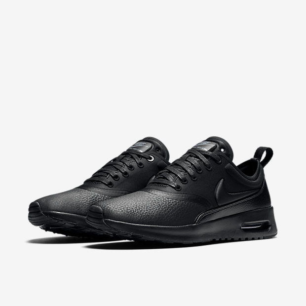 Nike Air Max Thea Black Mens Kellogg Community College