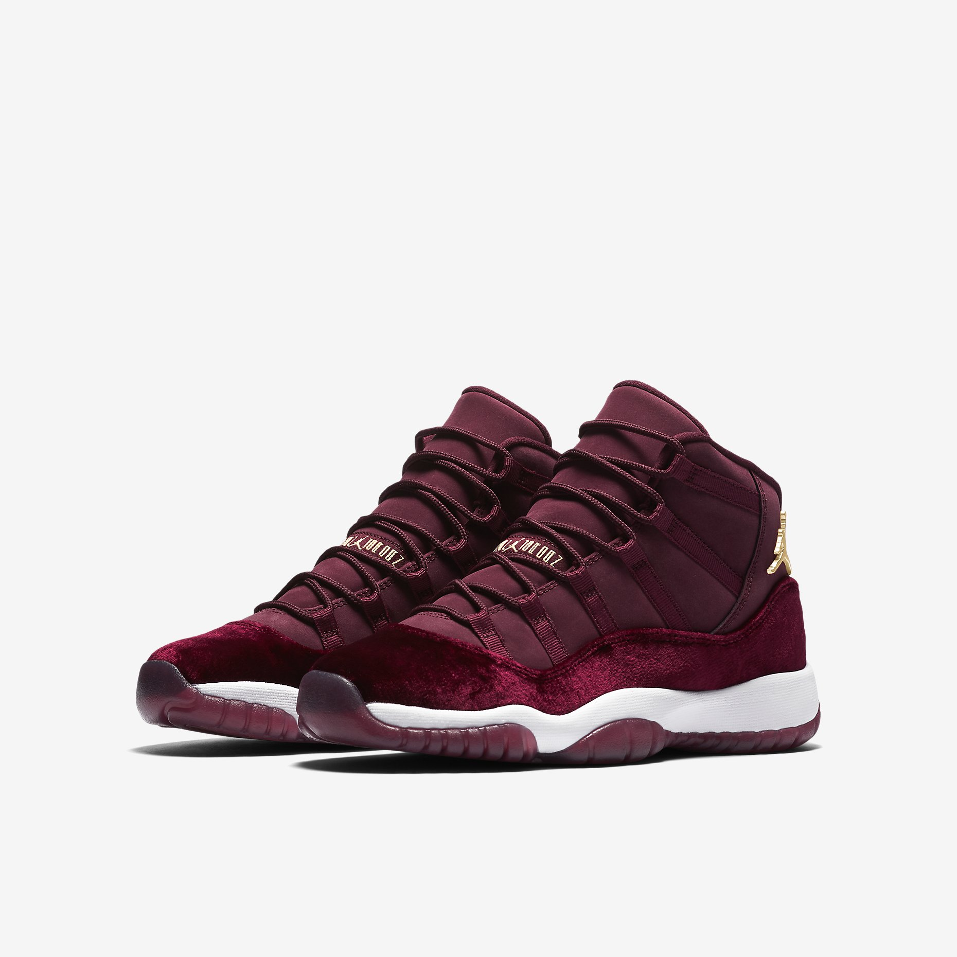 b4eb0b2269ae Air Jordan 11 Retro Heiress Red Velvet - HotKicks