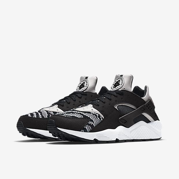 Nike Huarache Grau Schwarz