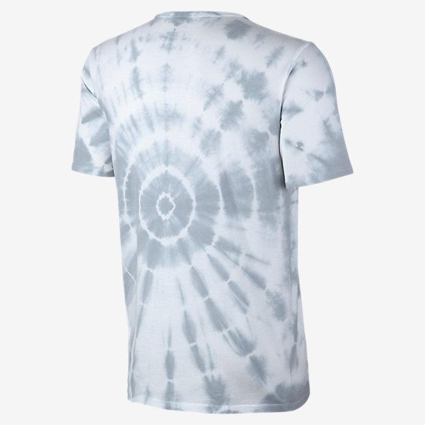 Nike Free Flyknit Tee T Shirt Tie Dye White Reflective
