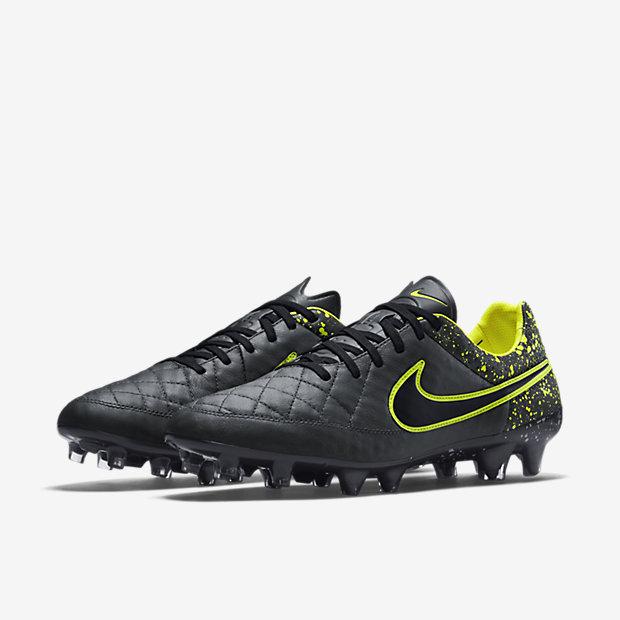 Nike Tiempo Legend - Vorderseite Schwart