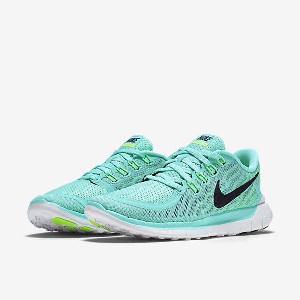 Nike Free Run Verde Acqua