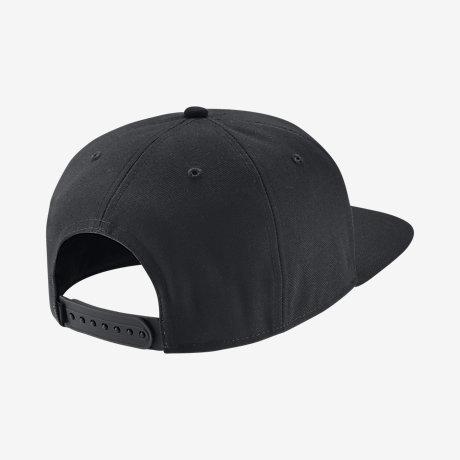 gorras planas negras nike