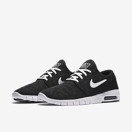 Nike Stefan Janoski Max Black Red White