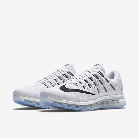 Cheap Nike Air Max 2016 Grey Blue Mens Running Shoes Sneakers Trainers