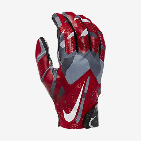 Receiver Gloves Nike Nike Vapor Fly Gloves Red