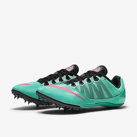 New Balance Women's WLD5000 Spike Track Shoe,Blue/Pink,7 B US in