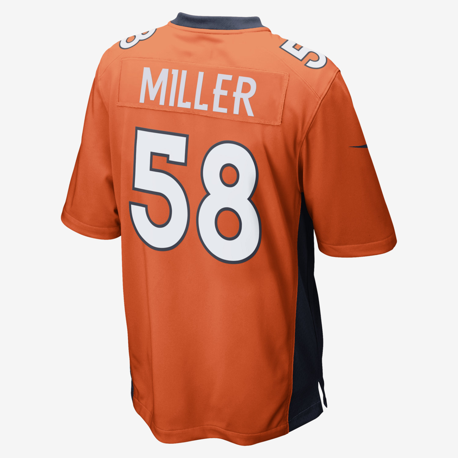 Men's Denver Broncos #33 Shiloh Keo Orange 2016 Super Bowl 50 Elite Jersey