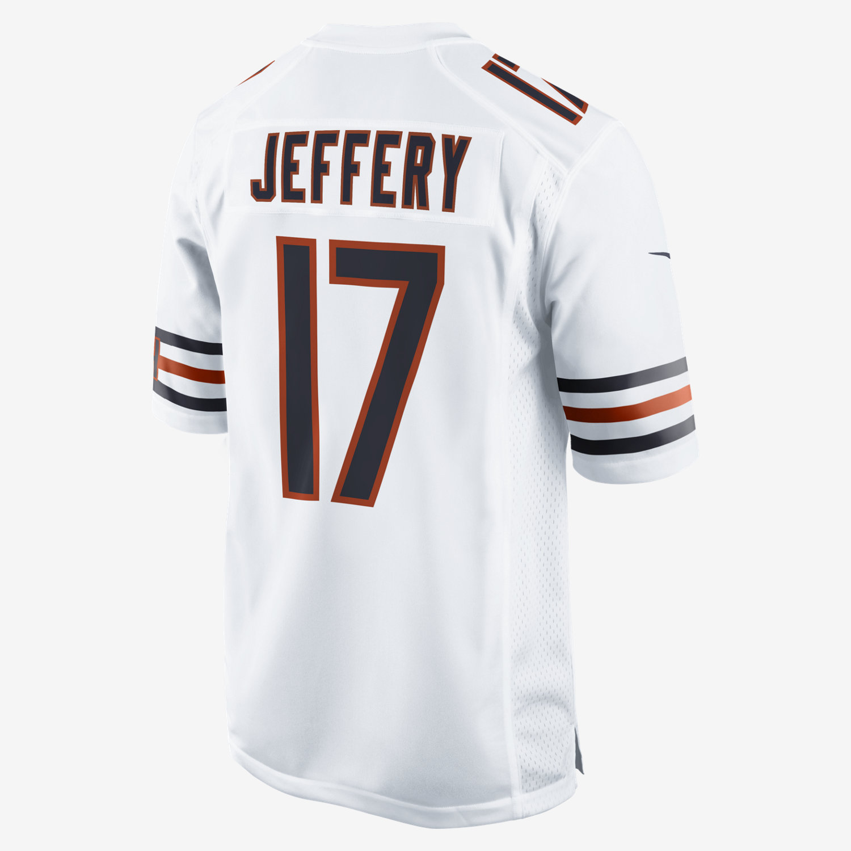 NFL Chicago Bears (Alshon Jeffery) Men's Football Away Game Jersey ...