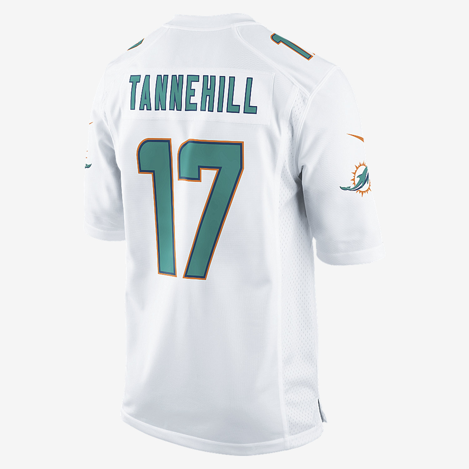 NFL Jersey's Men's Miami Dolphins Nike White Custom Elite Jersey