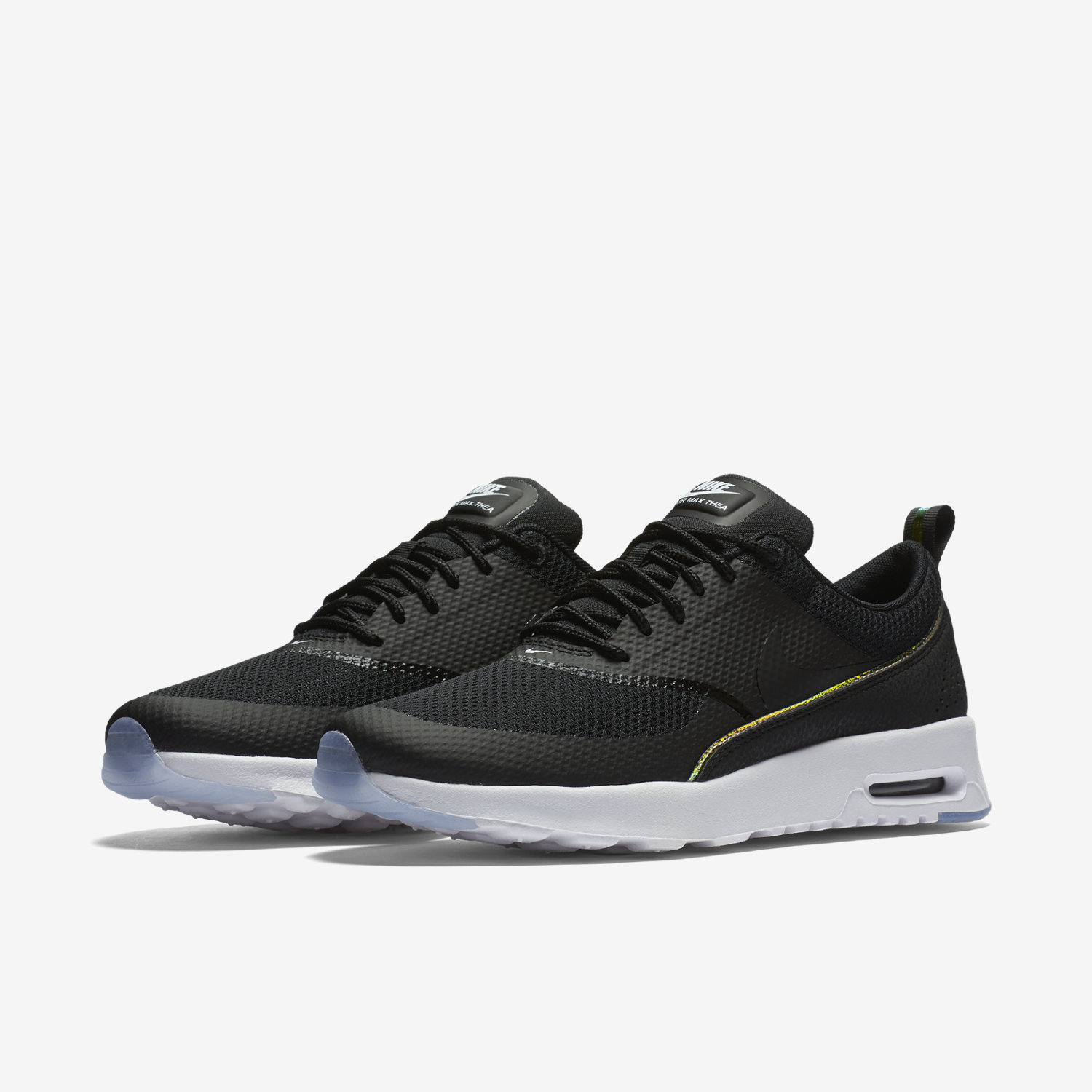 Nike Air Max Thea Dark Grey Black Volt Print junior Office
