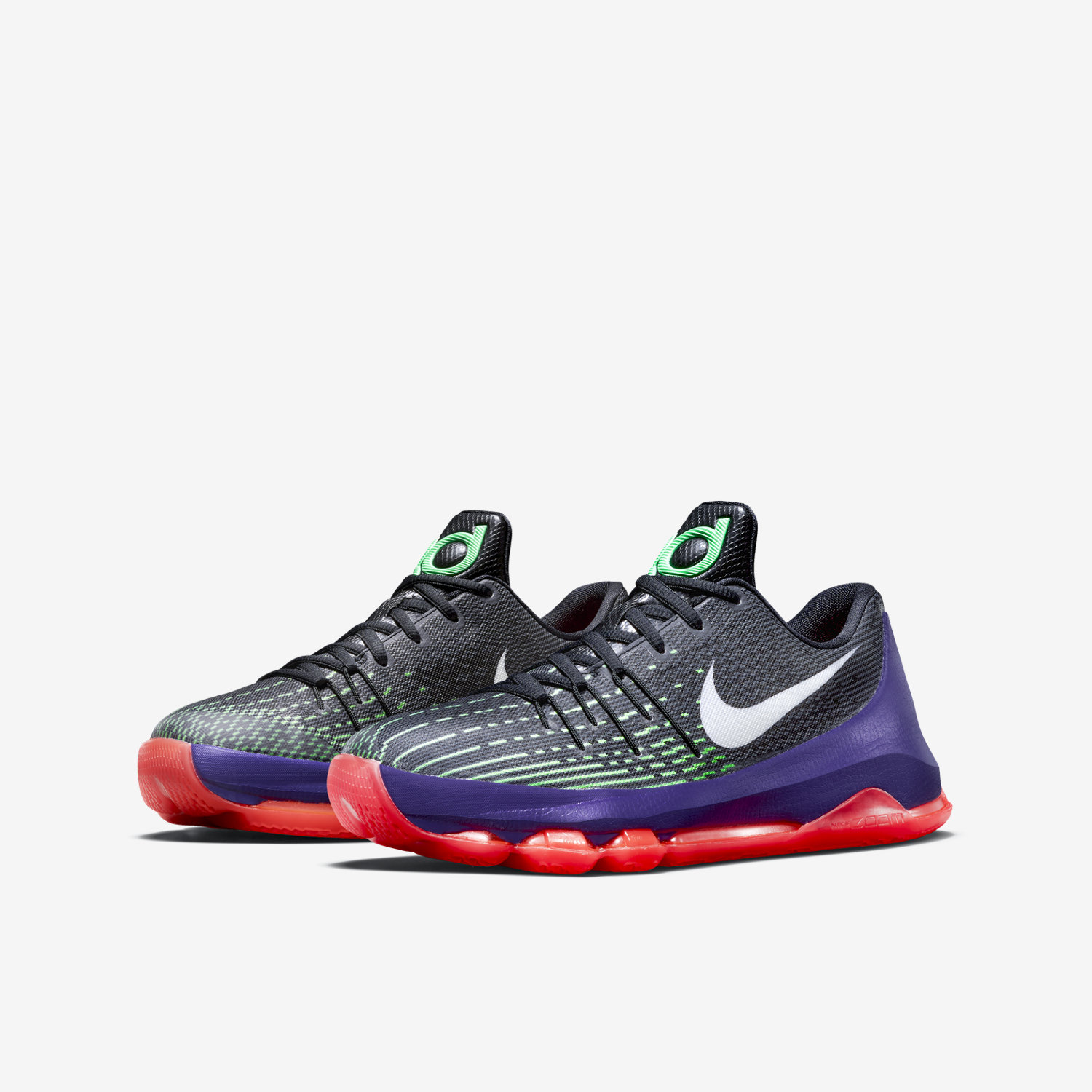 buy online eb018 a1d87 ... clearance nike kd 8 kids green 41662 b3d4e