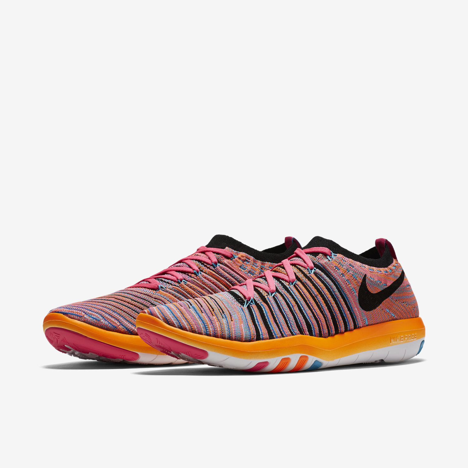 ... 5.0 gold orange nike free transform flyknit womens training shoe. nike