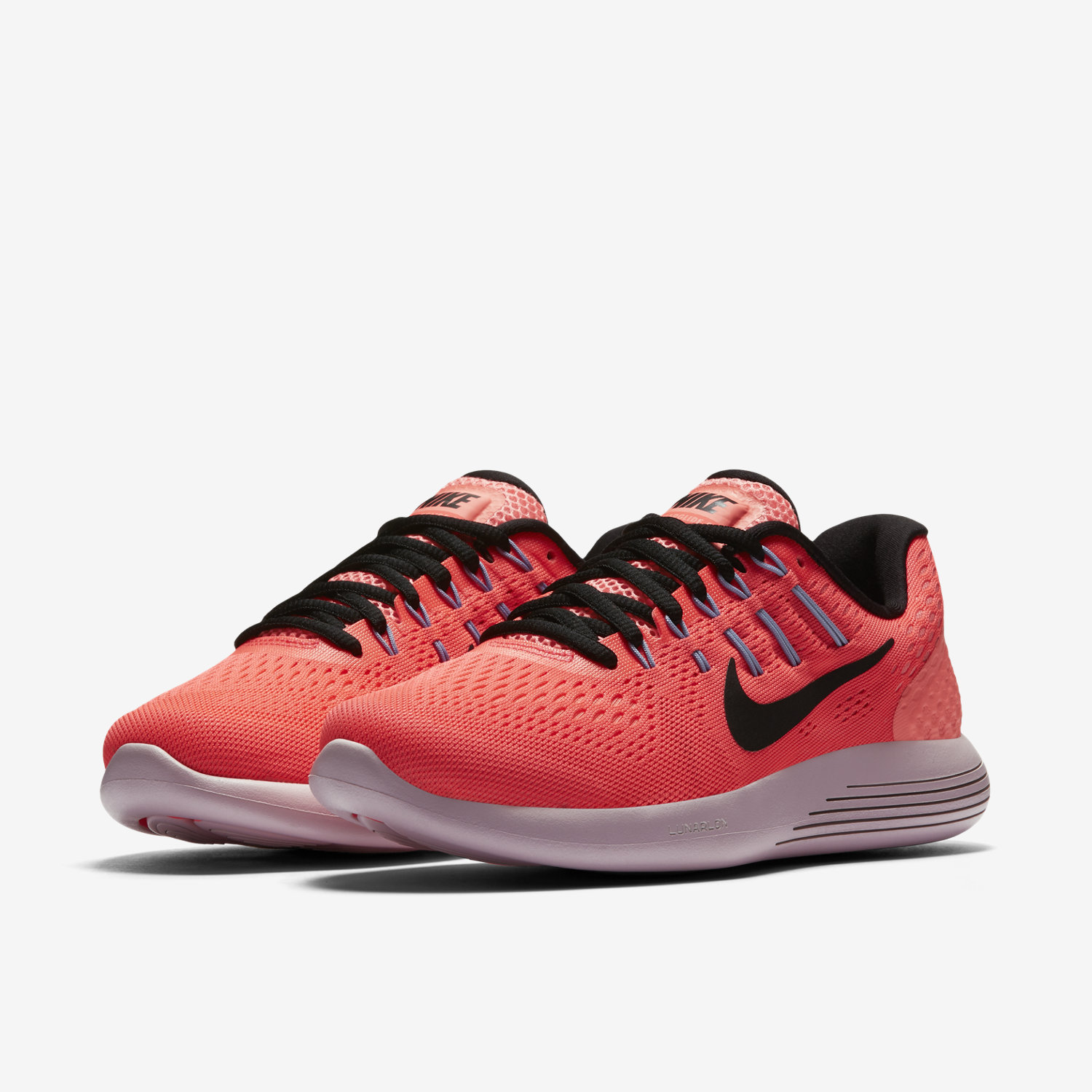 ... nike lunarglide 8 orange purple ...
