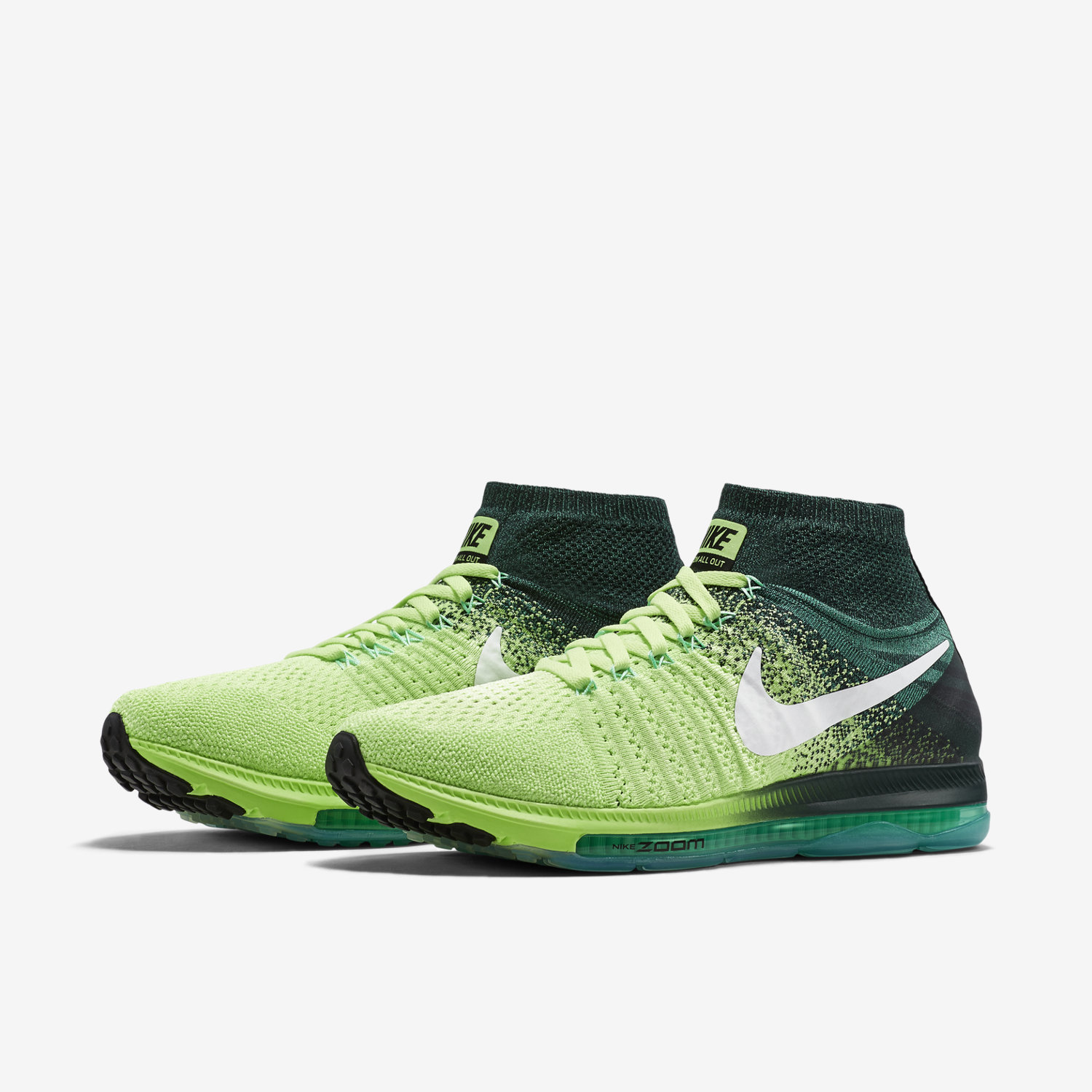 09b09184c536 nike zoom all out flyknit mens running shoes