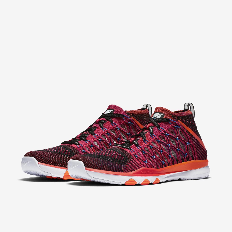 46dc0686e3c9 ... rose nike shox pour les femmes - Nike Train Ultrafast Flyknit Amp Men s  Training Shoe.