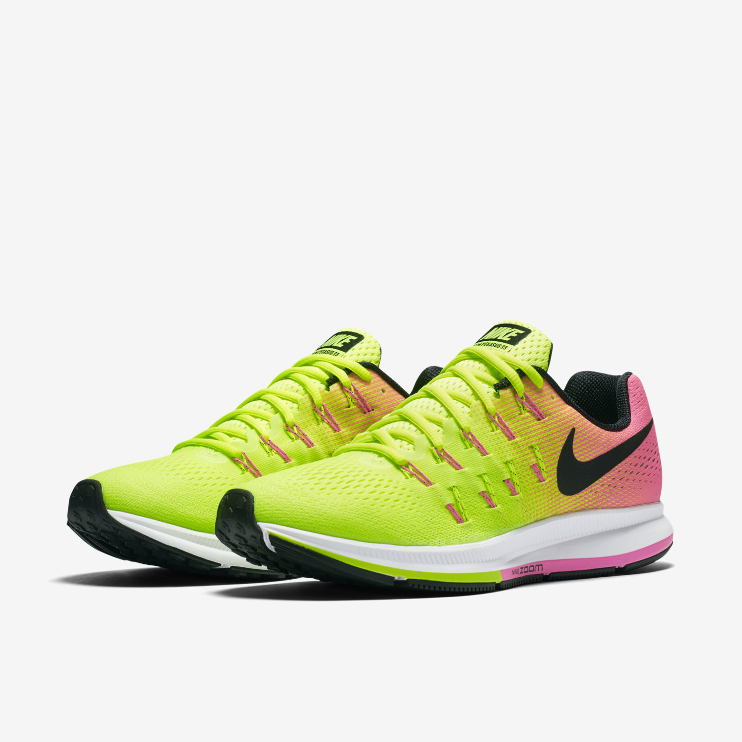 grand choix de cae5e 7651b coupon for nike zoom pegasus 33 damänner orange rosa 1b175 c749c