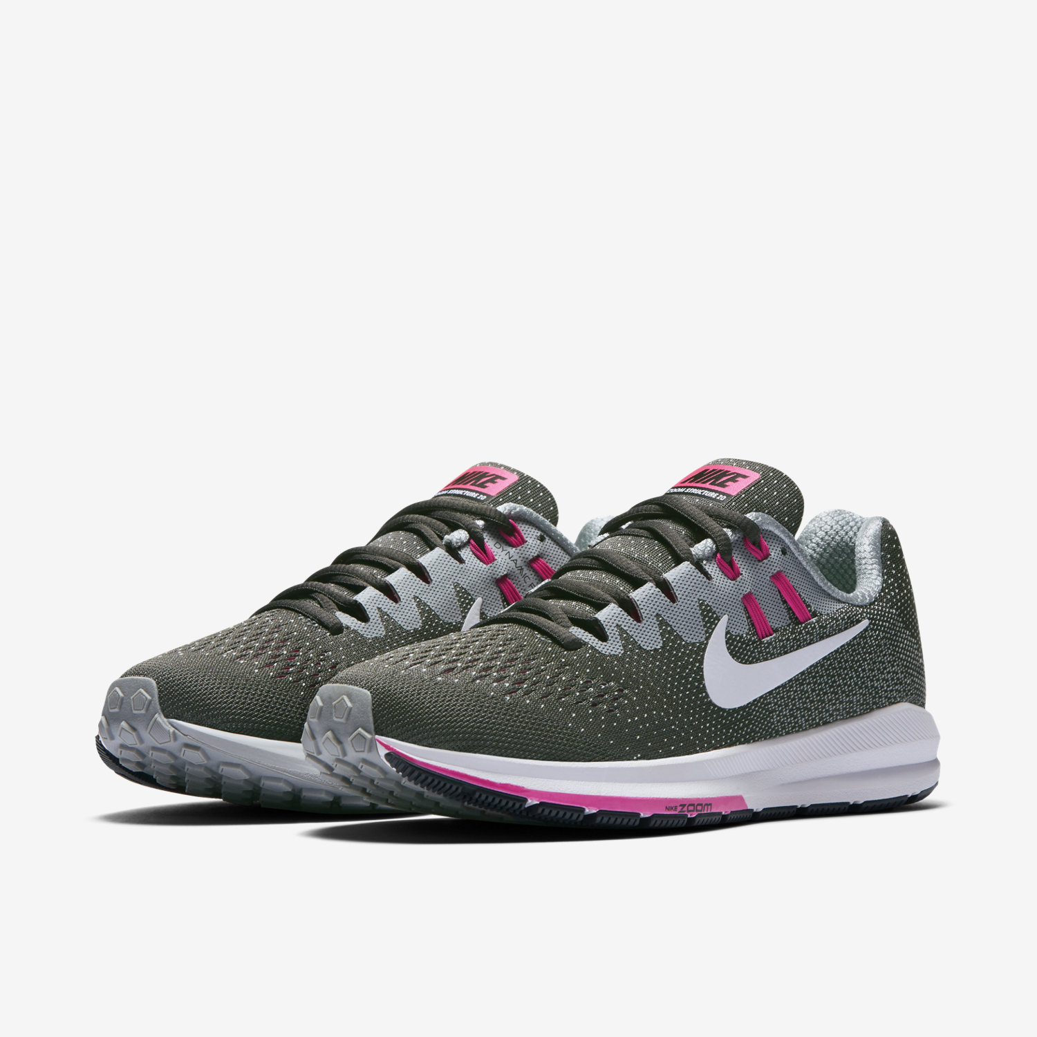 outlet store 55193 e9ac6 ... denmark nike zoom structure 19 womens sky blue pink . 47e4c 6f1ec