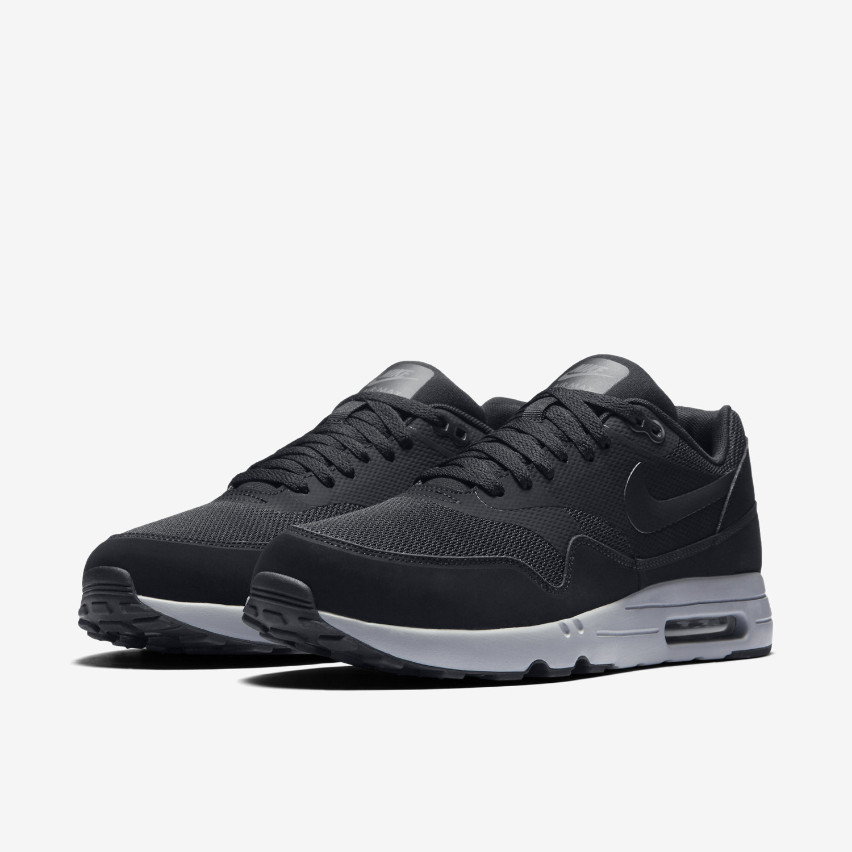 Mens Nike Air Max 1 Ultra 2.0 Essential BlackBlack Wolf Grey