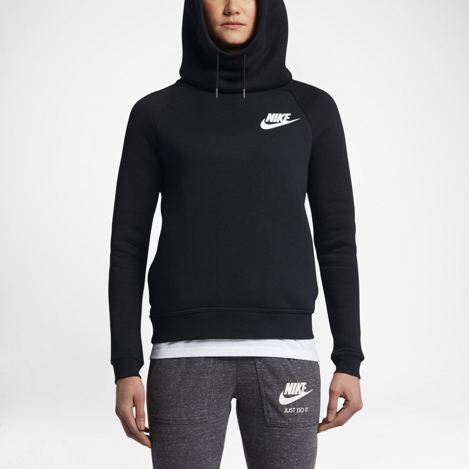Nike Sportswear Rally Funnel Neck Women's Sweatshirt. Nike.com