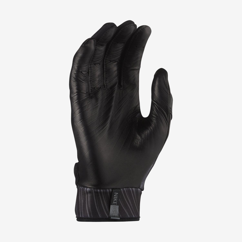 Mens nike leather gloves - Nike Mvp Elite Baseball Batting Gloves