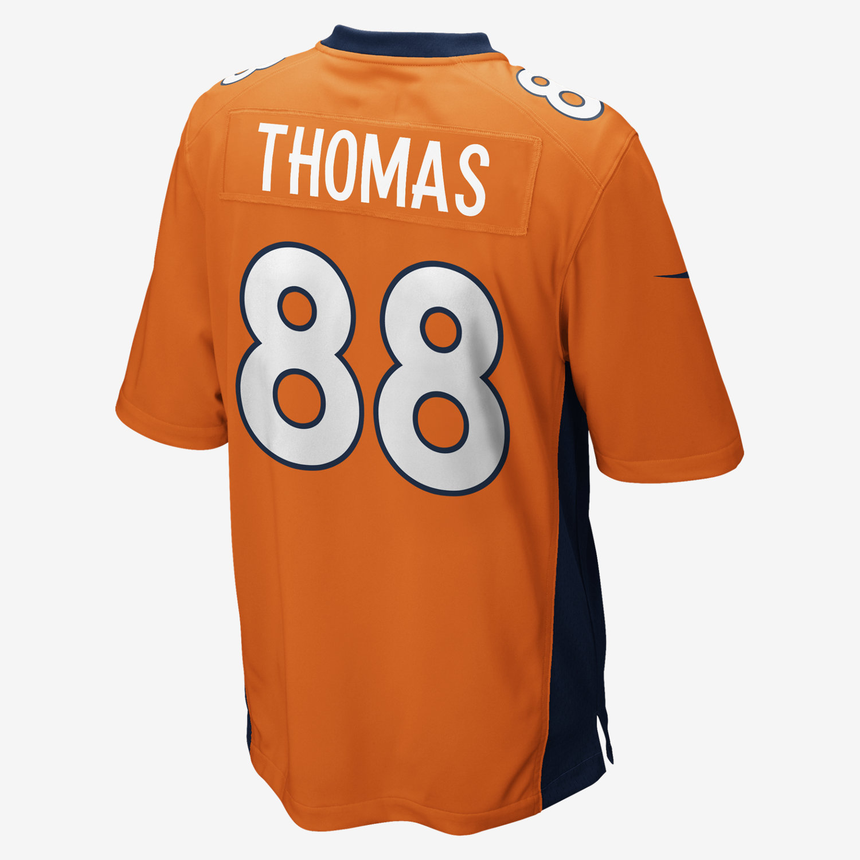 NFL Denver Broncos (Demaryius Thomas) Men's Football Home Game ...
