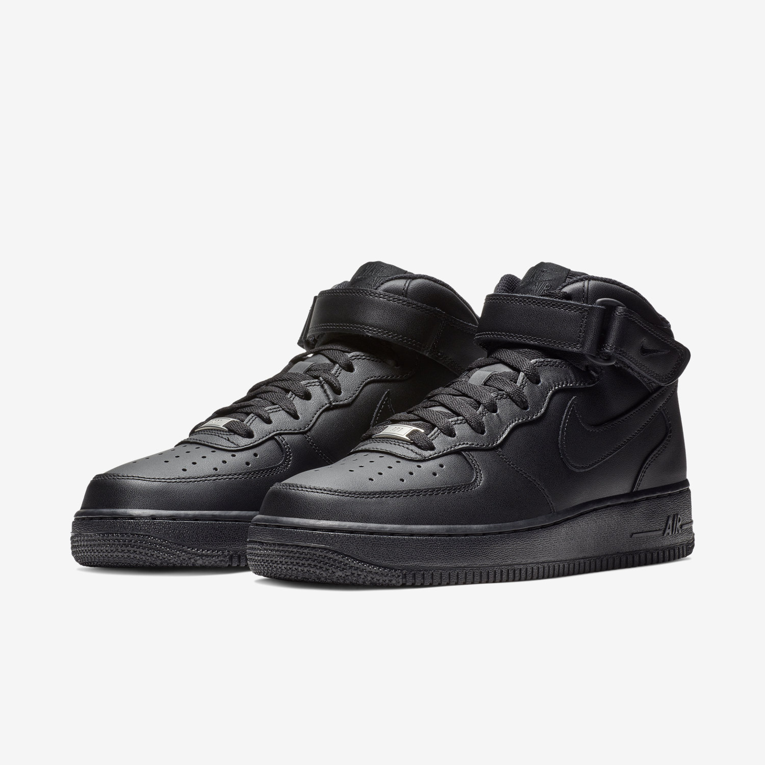 nike air force 1 mid schwarz weiss estrelinha. Black Bedroom Furniture Sets. Home Design Ideas