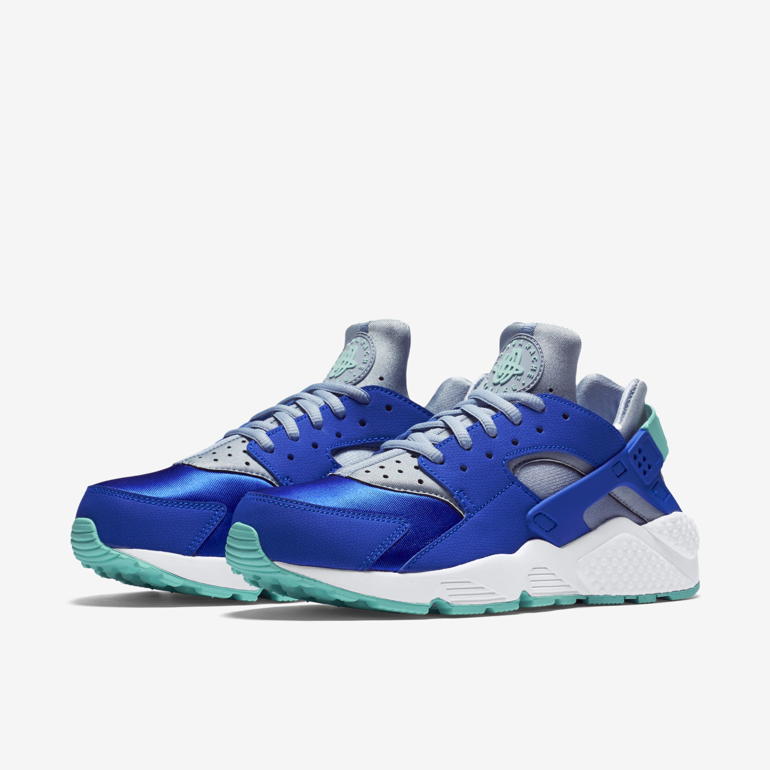 Nike Huarache Blue And Red