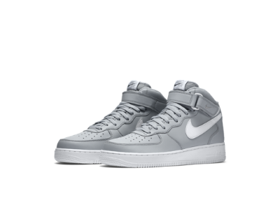 Nike Air Force 1 Mid White Mens