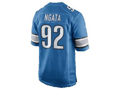 NFL Jerseys Online - NFL Detroit Lions (Haloti Ngata) Men's Football Home Game Jersey ...