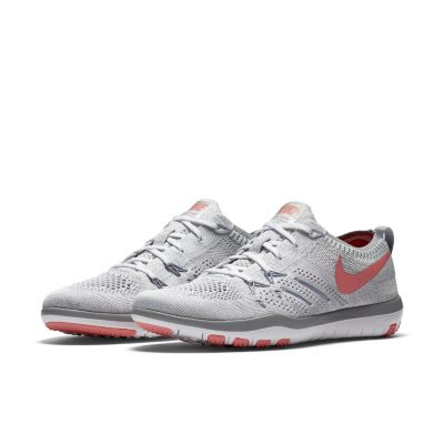 womens nike free tr flyknit 5.0 gold red