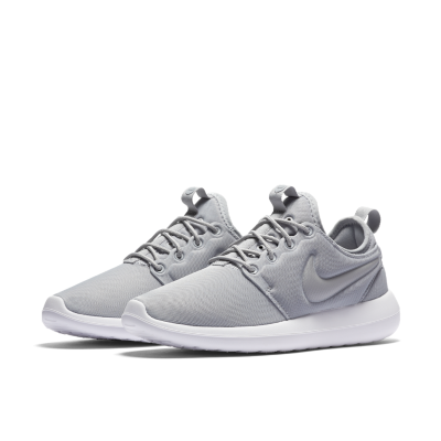 Nike Roshe Two Flyknit (Wolf Grey/White Gamma Blue Black) VILLA