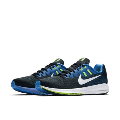 ... nike zoom structure 20 blue gold nike zoom structure 20 blue gold ...