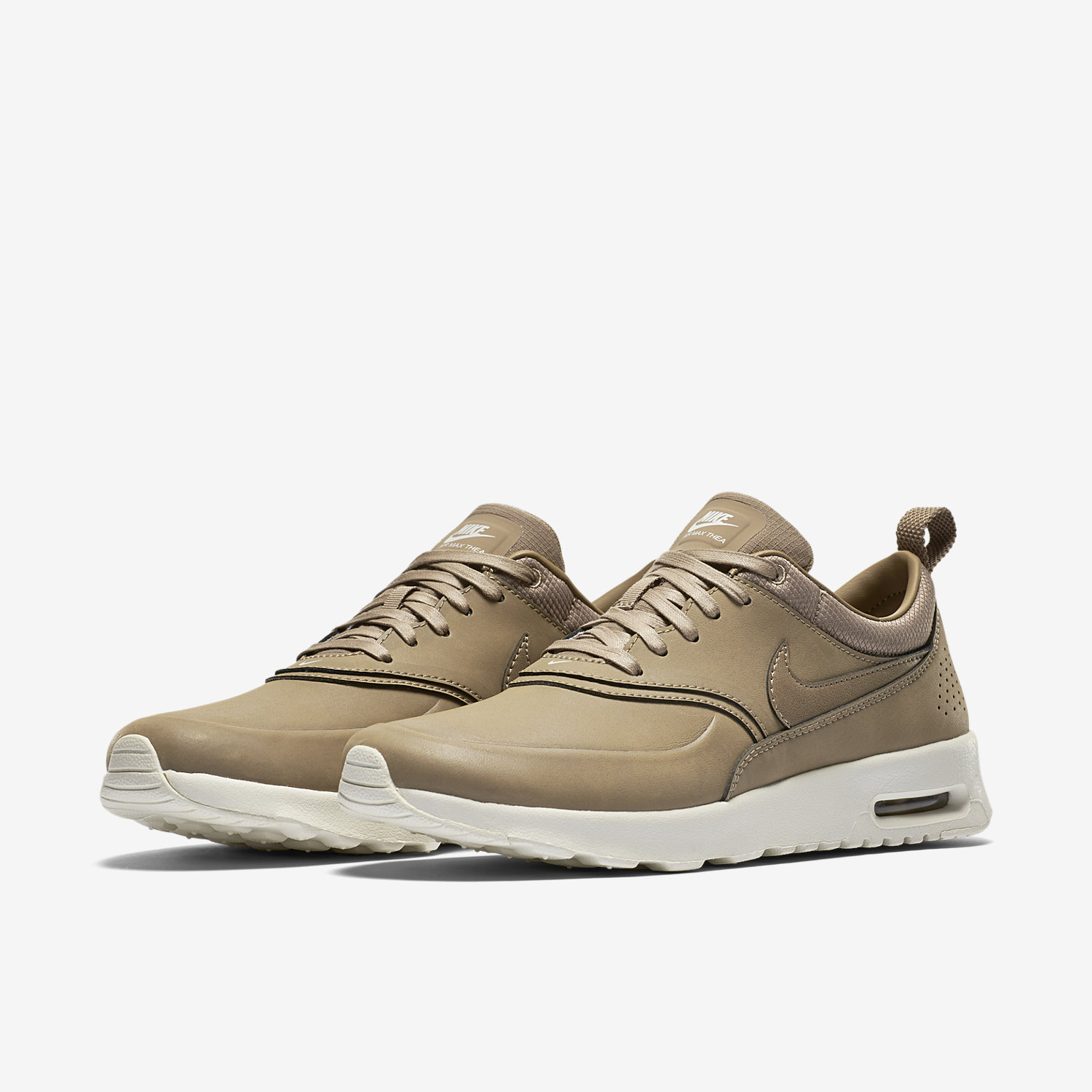 nike air max thea khaki womens. Black Bedroom Furniture Sets. Home Design Ideas