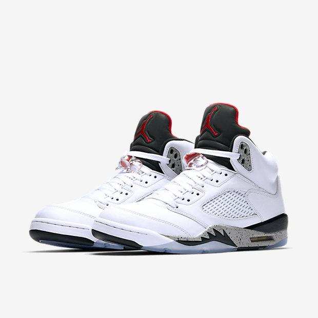 Nike air jordan 5 grey 100% de l'attitude de service 8K6ZK1