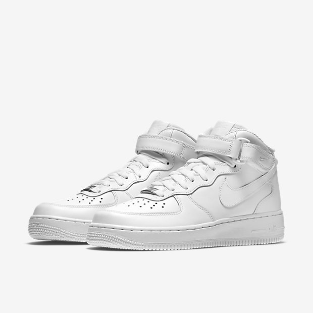 NIB MENS SIZE 10 NIKE AIR FORCE 1 HIGH '07 BASKETBALL