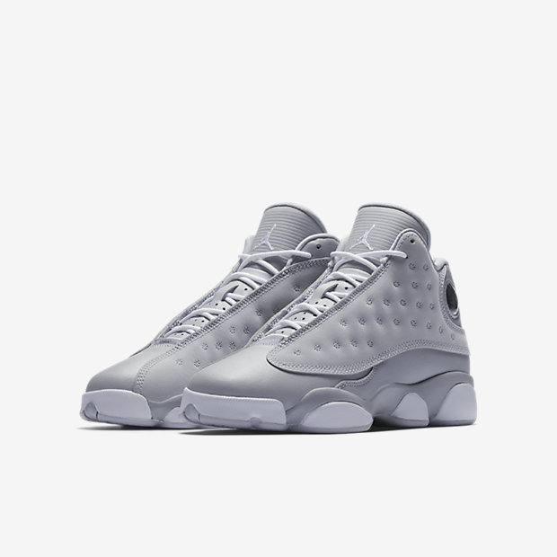 5a12c45f2b7 Air Jordan 13 Retro PS Wolf Grey