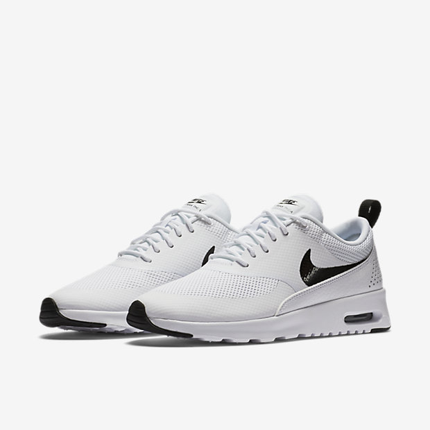 Nike Air Max Thea Girls' Grade School Running Shoes Wolf Grey