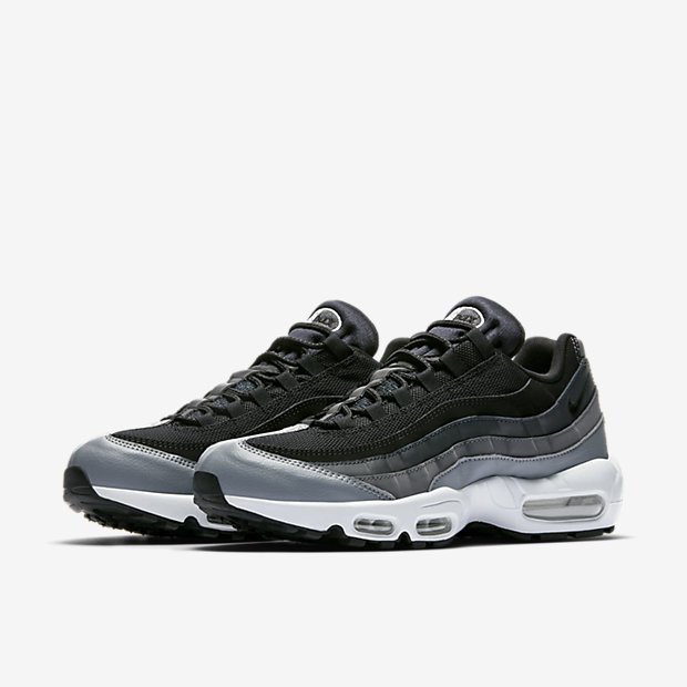 Nike Air Max 95 (Granite & White) End Musslan Restaurang och Bar