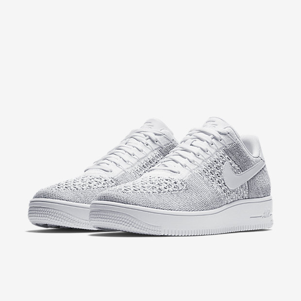 Nike Air Force Flyknit White