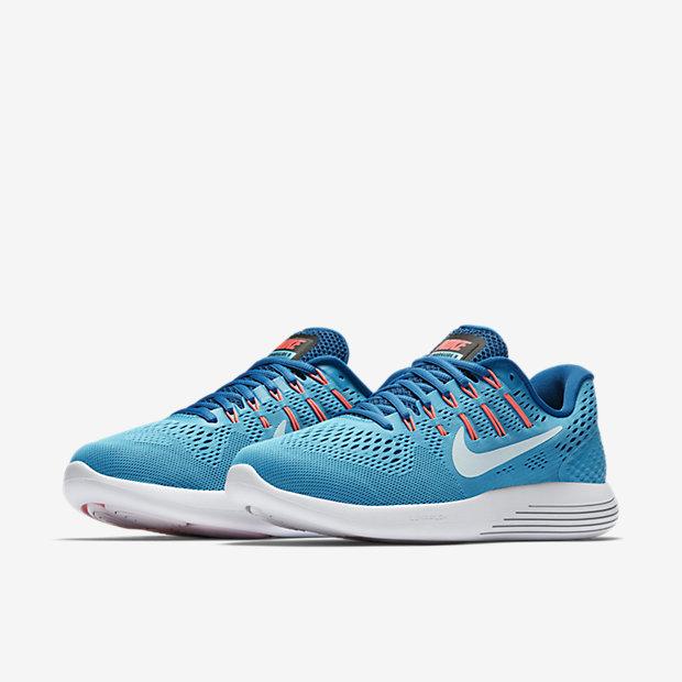 Men's Cheap Nike Flyknit Lunar 2 Running Shoes Sz 10.5 Red