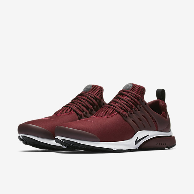 best authentic d9628 b1f76 nike air presto black and red
