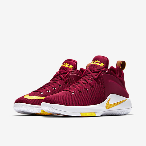 check out 7630a dcc2c ... purple yellow  Nike Lebron Witness Men s Basketball Shoe.