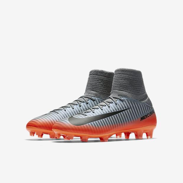 ... nike mercurial superfly fg amarillo rojo fit collar calzado de fútbol  para niños talla pequeña grande . ... 2a47f7a27c77f