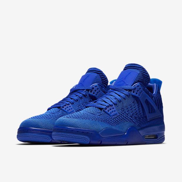 newest collection e04e7 853c8 Air Jordan 4 Retro Flyknit Men's Shoe