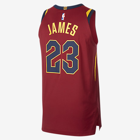 7e0f18ce4dd ... Swingman Home Jersey LeBron James Icon Edition Authentic Jersey  (Cleveland Cavaliers) Mens Nike NBA Connected Jersey.